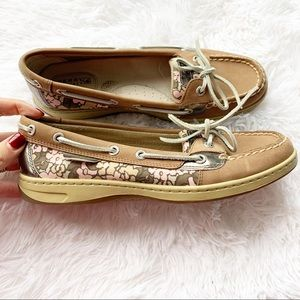 SPERRY Top Sider Angelfish Leather Boat Shoes